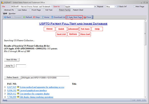 IPGet Patent Search System-Tutorial1: Download Patents From
